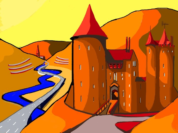 """Castle Coch"" by Christopher Langley"