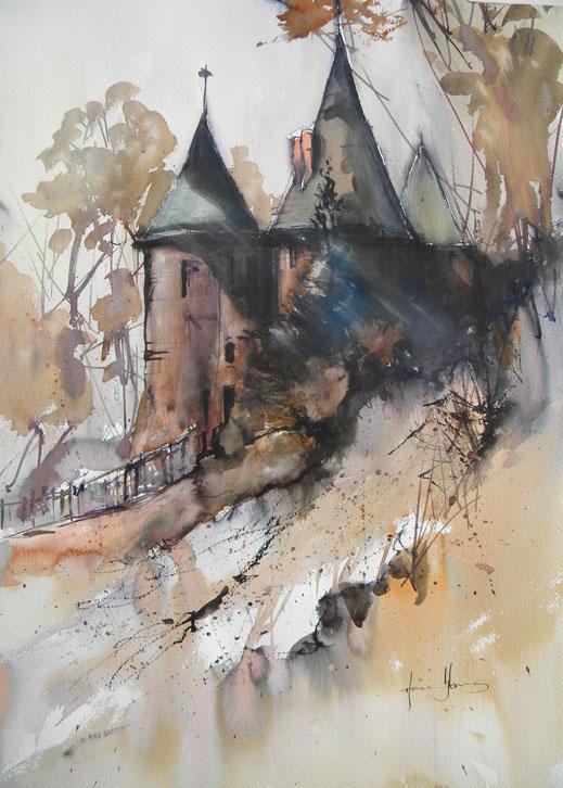 """""""Castell Coch"""" by Howard Jones"""