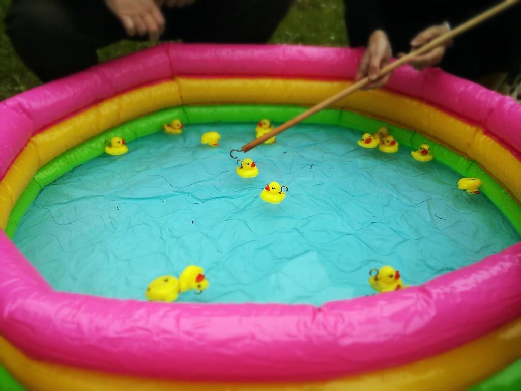 School Fair duck game