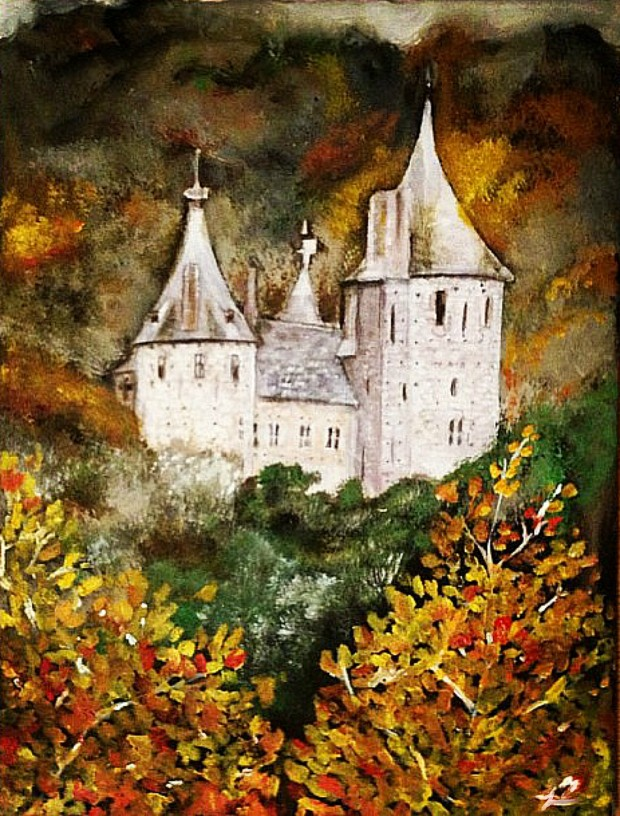Castell Coch by Jodie Welsh
