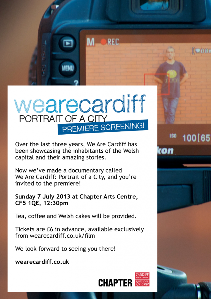 We Are Cardiff: Portrait of a City poster