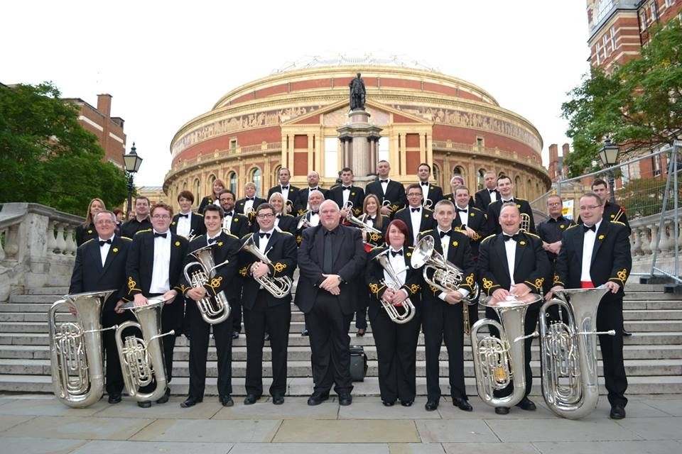 Tongwynlais Band at the Royal Albert Hall