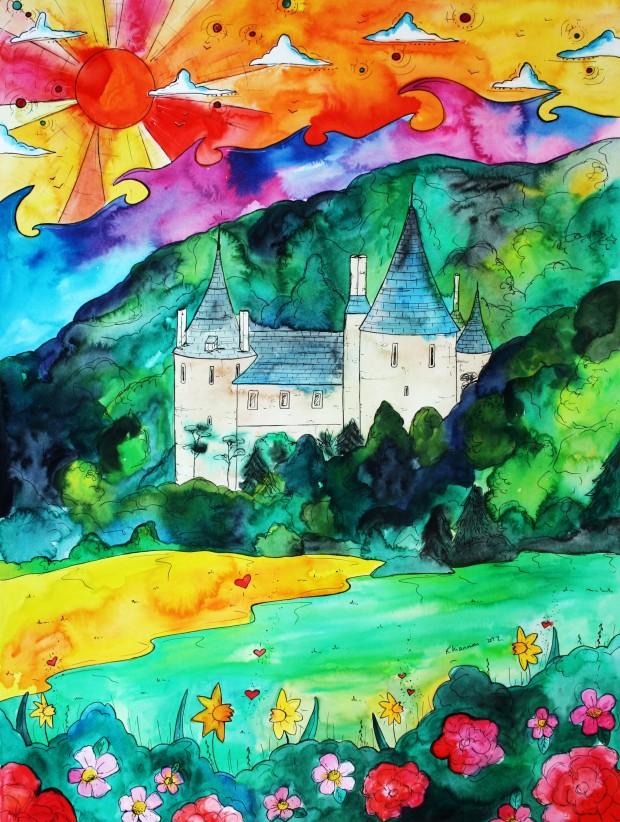 Castell Coch by Rhiannon Roberts