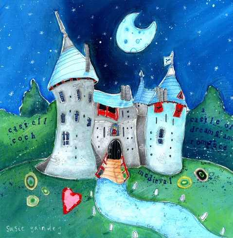 Castell Coch by Susie Grindey