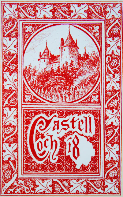 Castell Coch wine label