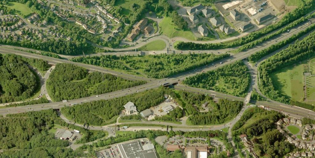 Coryton roundabout