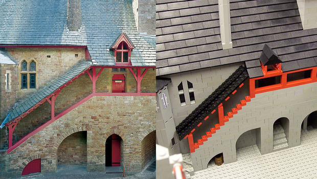 Comparison of Lego model