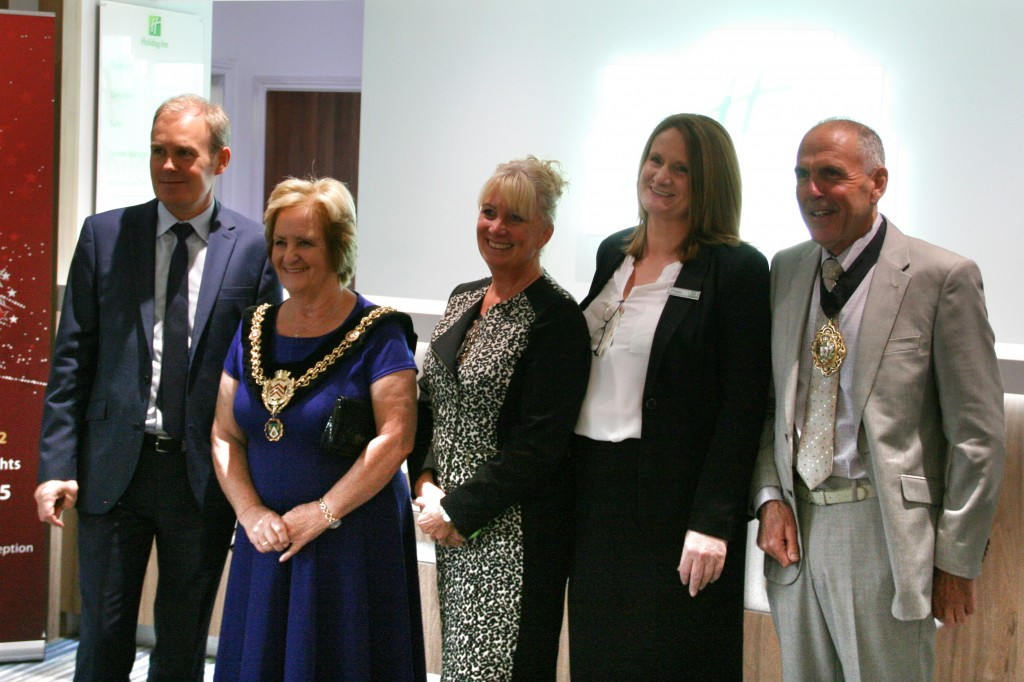 Lord Mayor and hotel managers