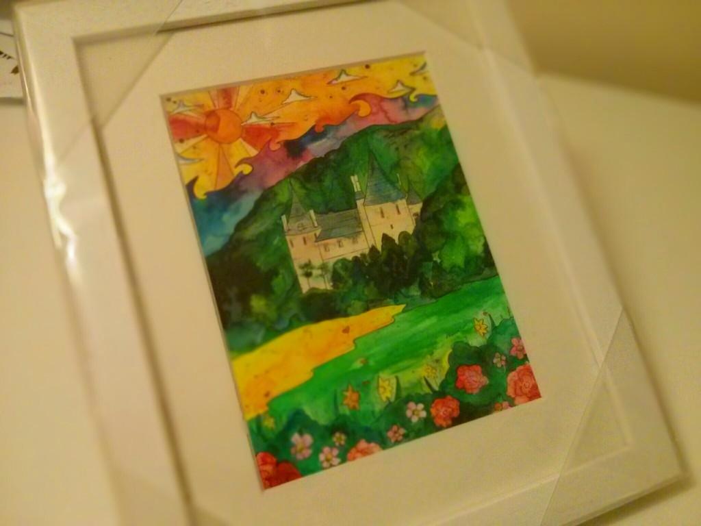 Castell Coch print