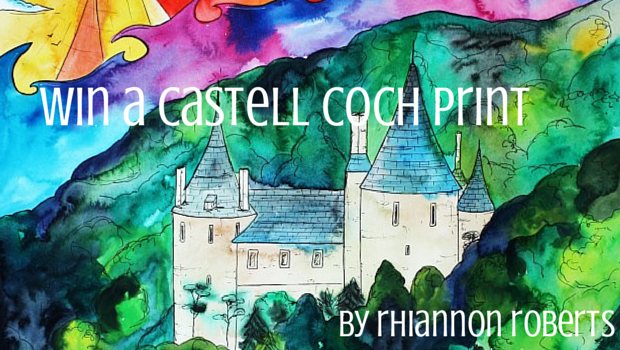 Win a Castell Coch print poster
