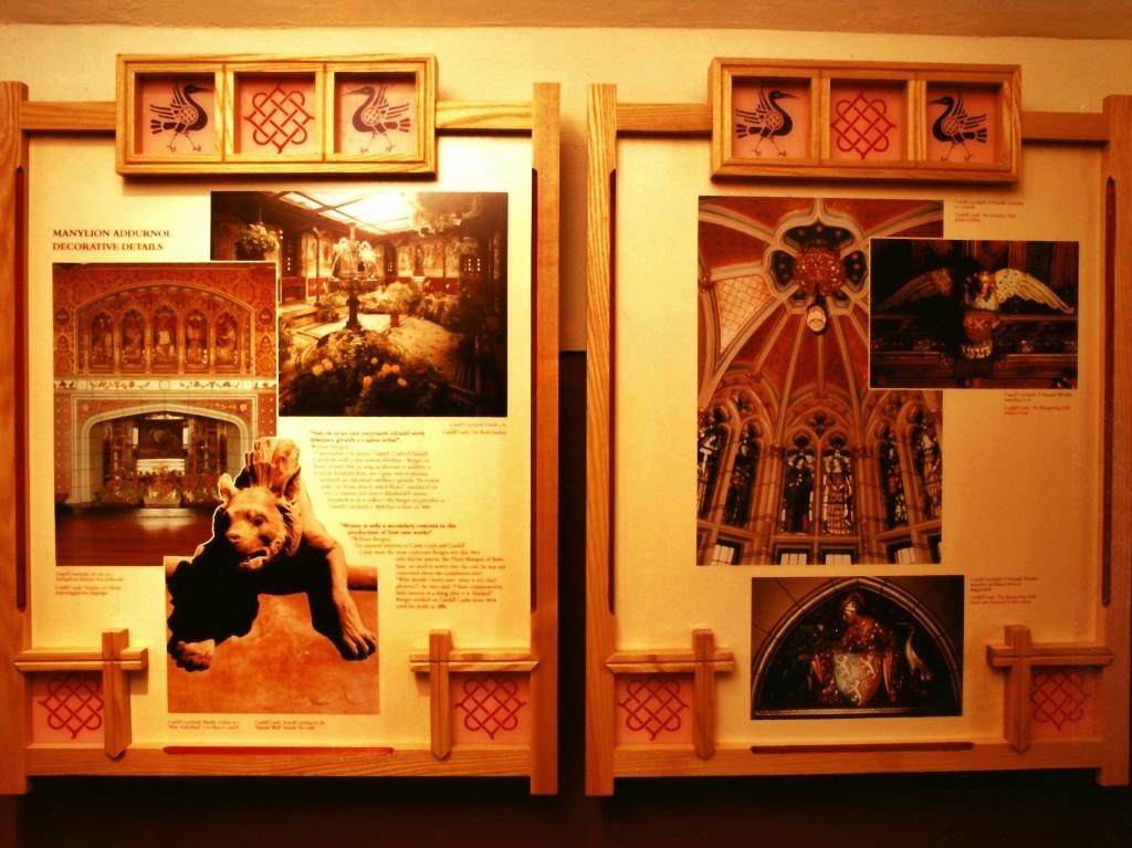 Castell Coch exhibit alcove