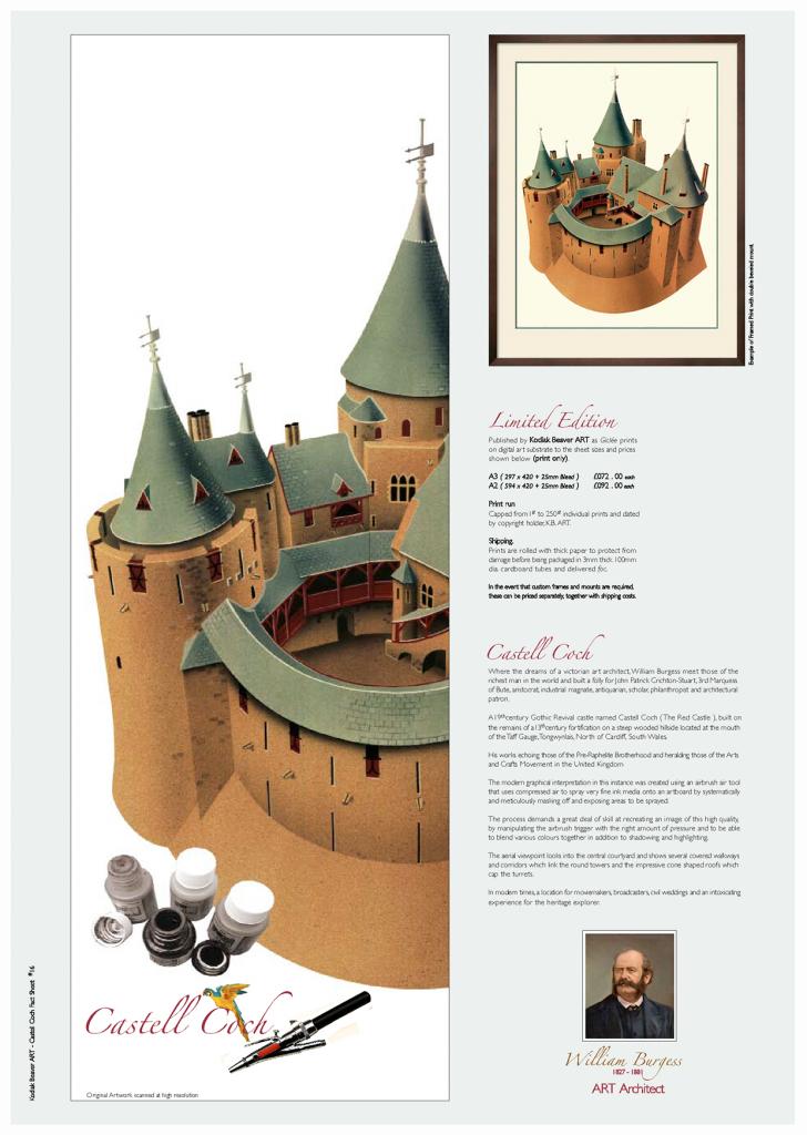 Castell Coch illustration