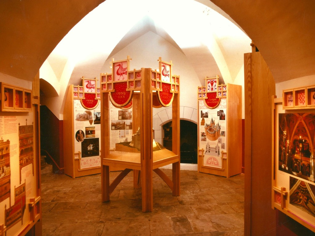 Castell Coch exhibit
