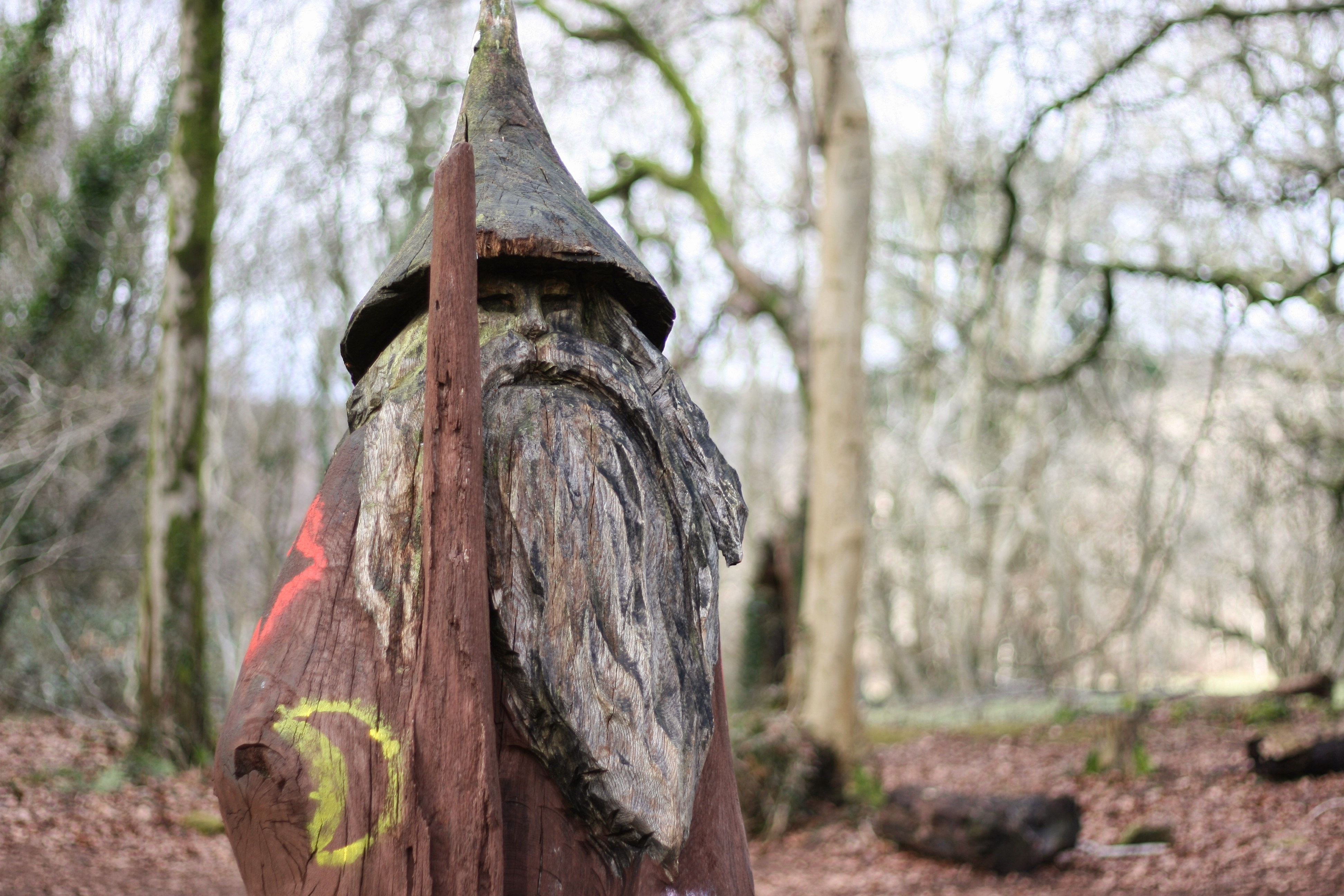 Sculpture trail wizard