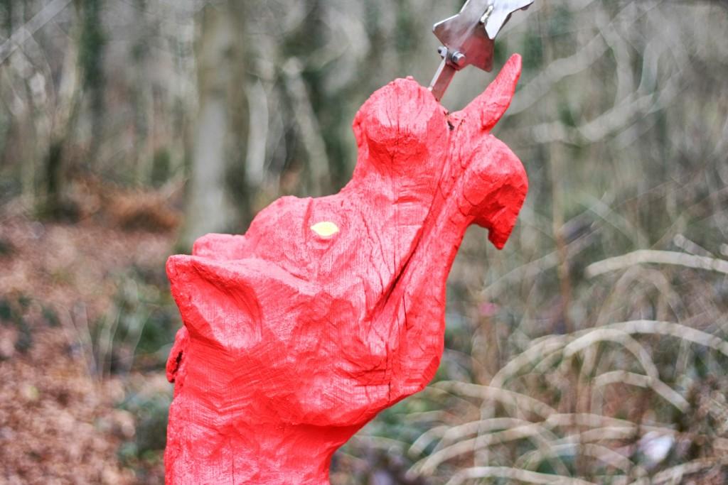 Sculpture trail dragon