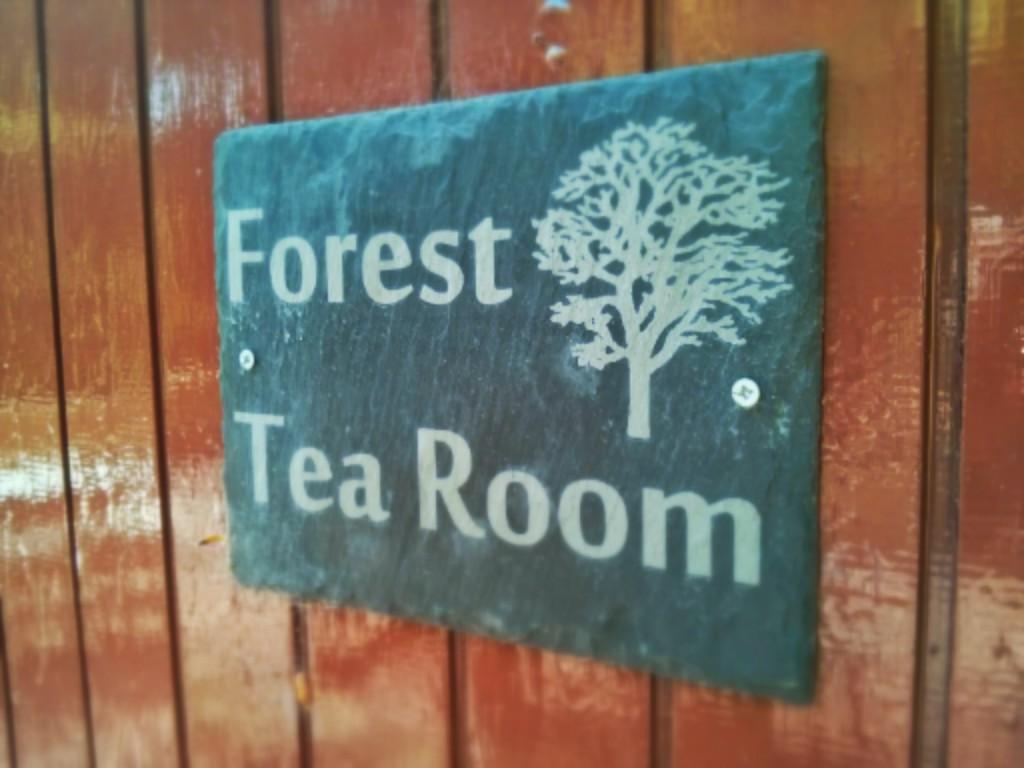 Forest Tea Room sign