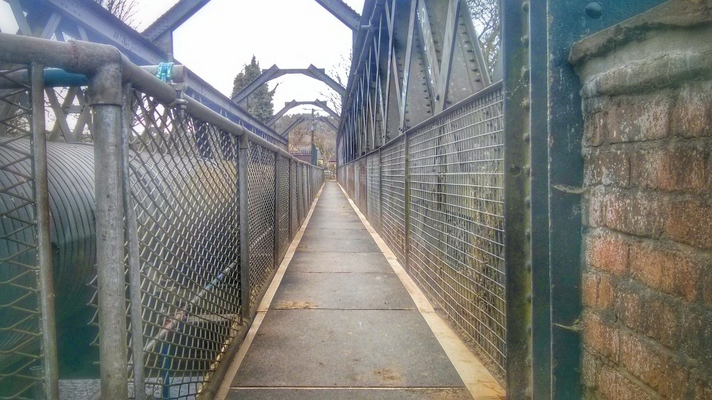 Iron bridge reopens