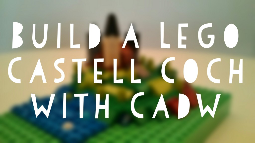 Build a Lego Castell Coch with Cadw