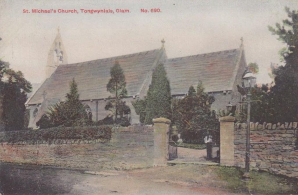 St Michael's Church old photo