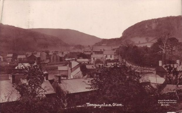 Old photo of Tongwynlais