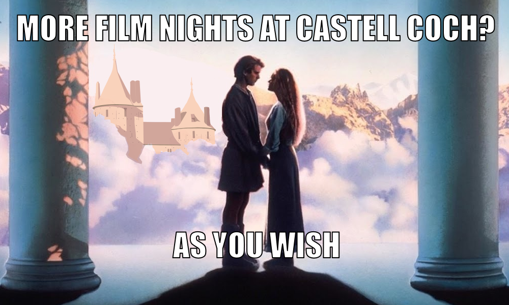 The Princess Bride at Castell Coch header