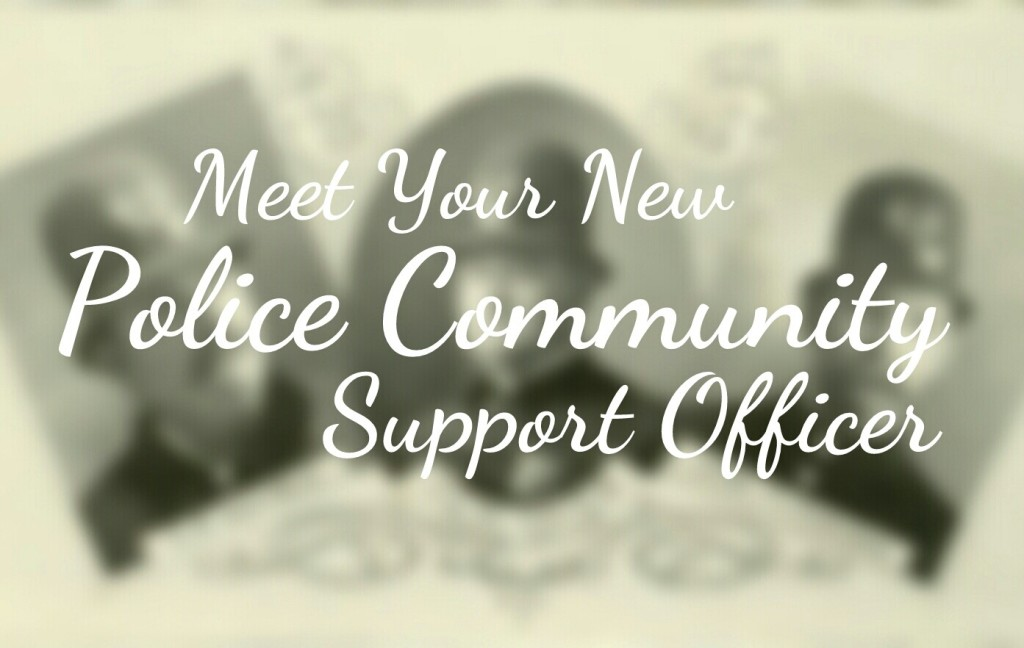 Meet you new Police Community Support Officer header