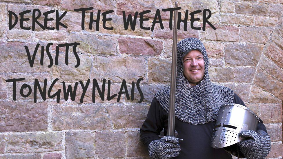Derek Brockway Visits Tongwynlais in Tomorrow Night's Weatherman Walking