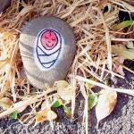 Baby Jesus stone