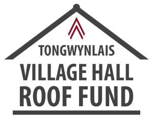 Village hall fundraising logo
