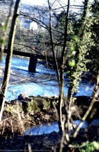 X Forge Dyke & Railway Bridge, 14/01/2001
