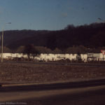 Birchwood on Tongwynlais Ors ridge, Castell Coch & village, Feb 72