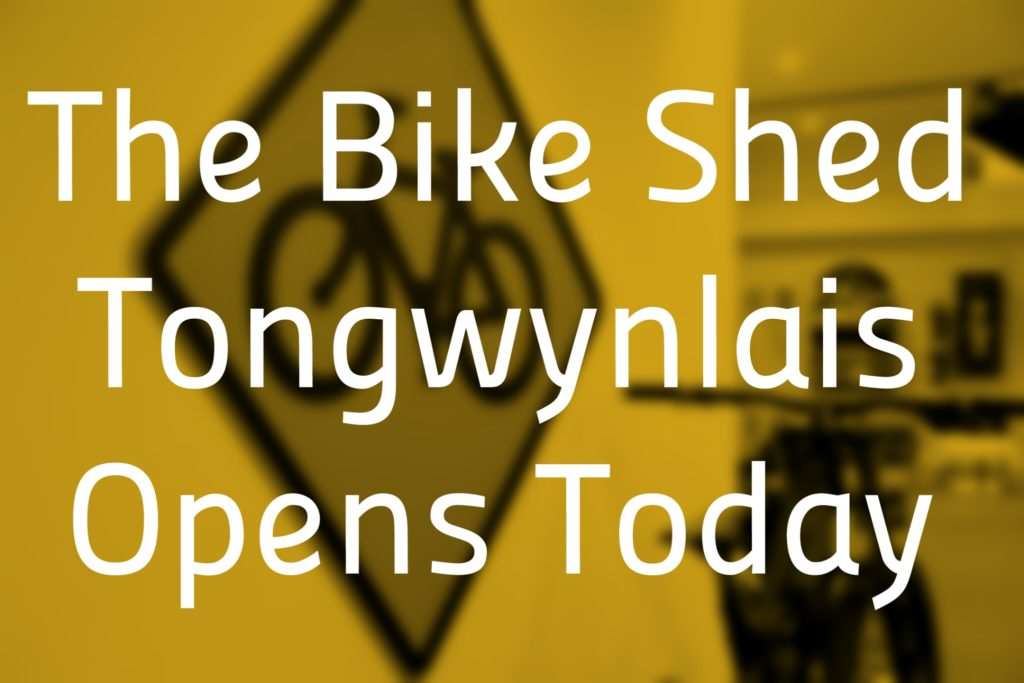 Bike Shed opening header