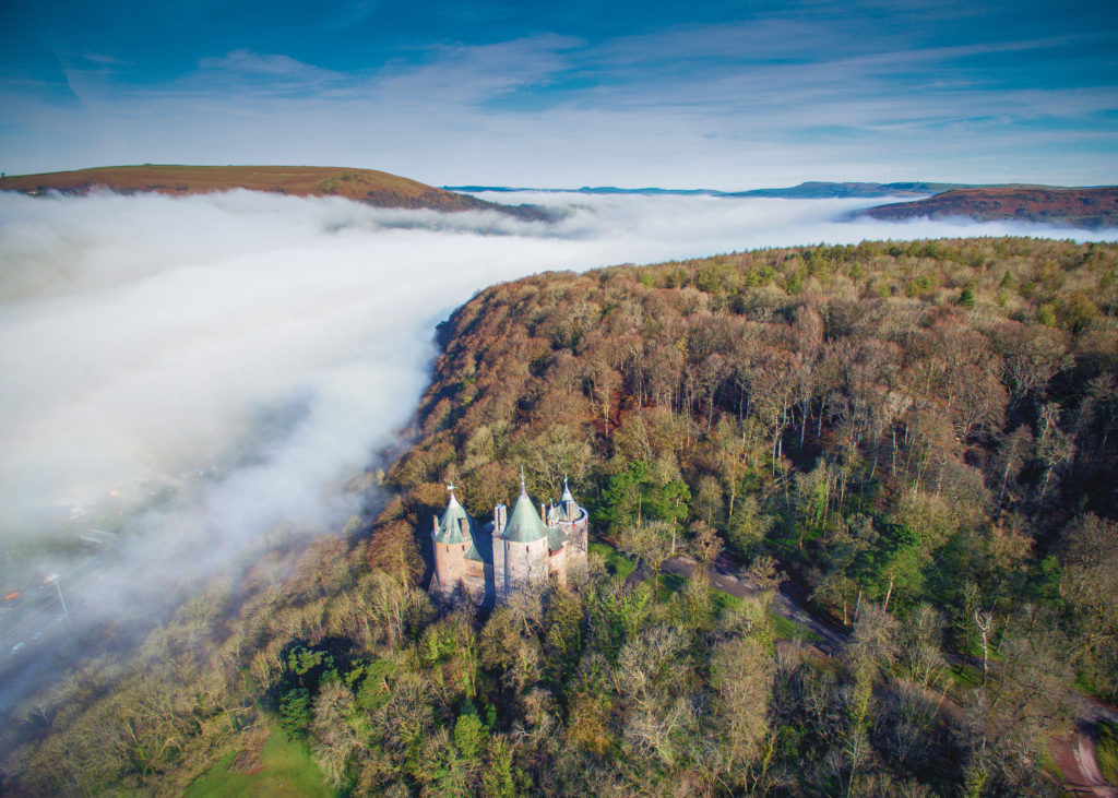 Morning Mist (Castell Coch) by Nick Russill