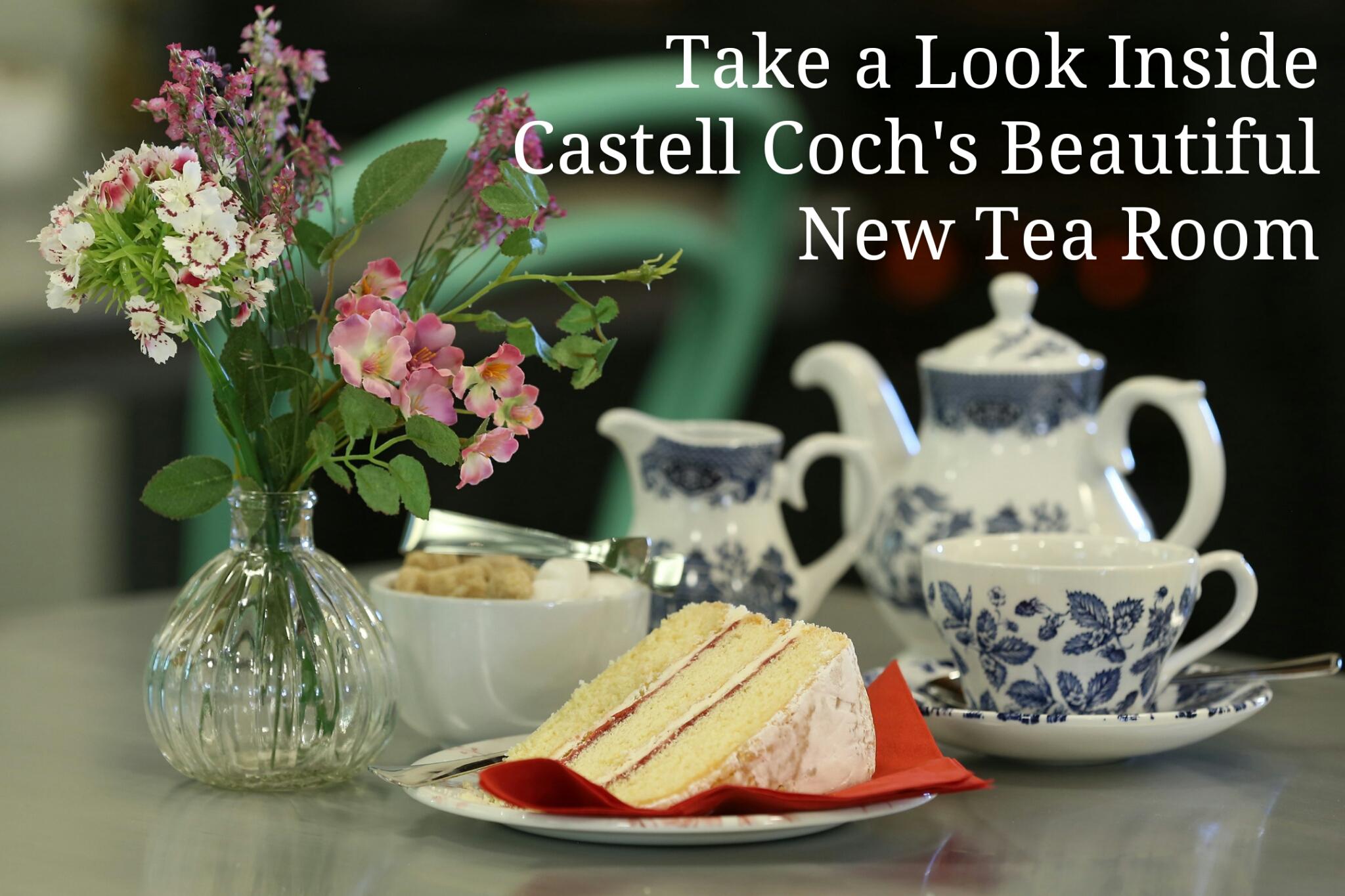 Castell Coch Tea Room Header