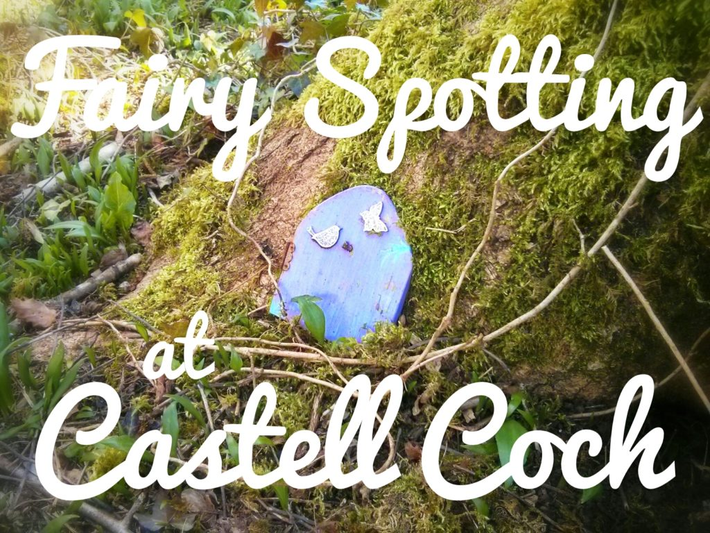 Fairy spotting at Castell Coch