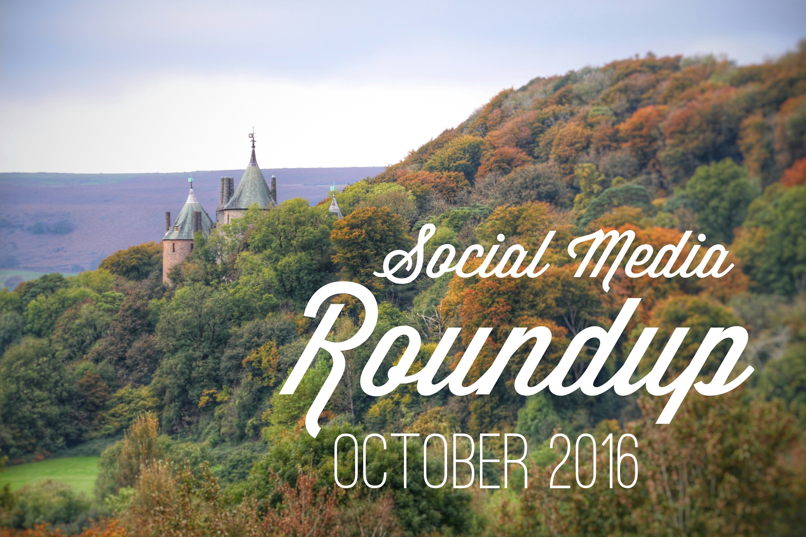 Social Media Roundup October 2016 header