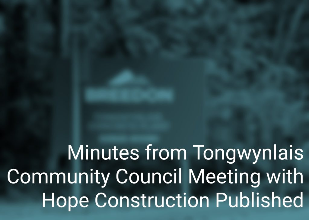 Hope Construction meeting header