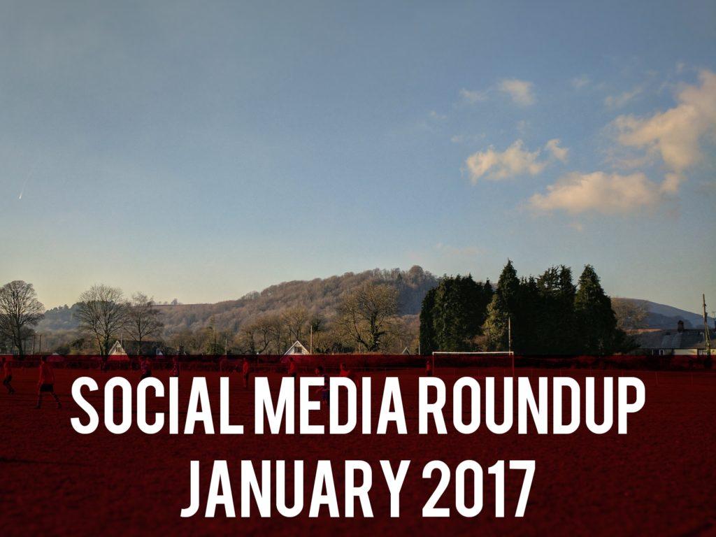 Social media roundup January 2017 header