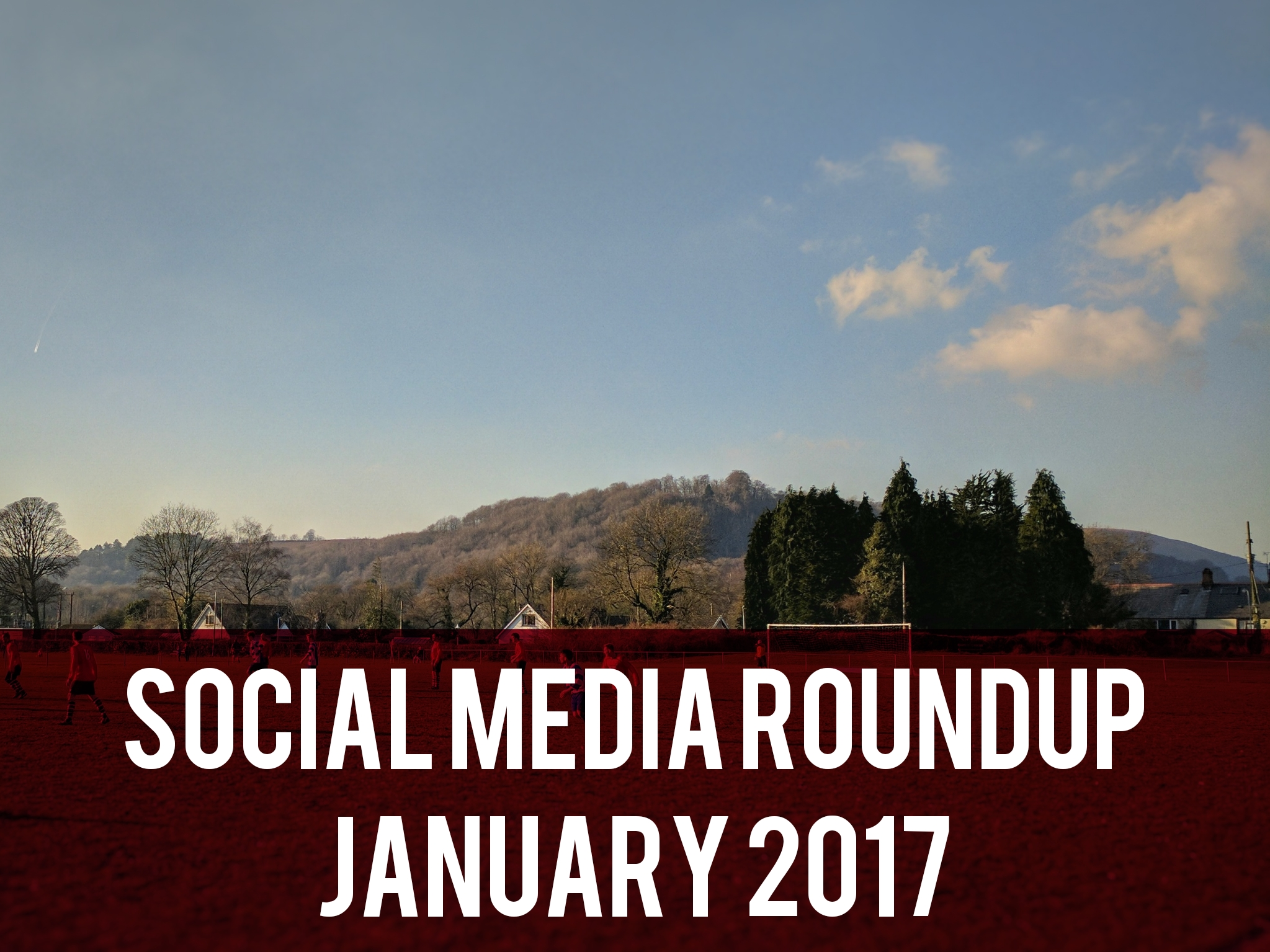 Social media roundup January 2017 header