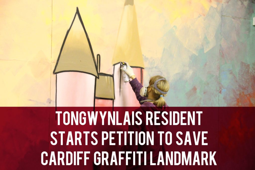 Tongwynlais resident graffiti petition header