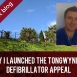 Why I launched the Tongwynlais defibrillator appeal header
