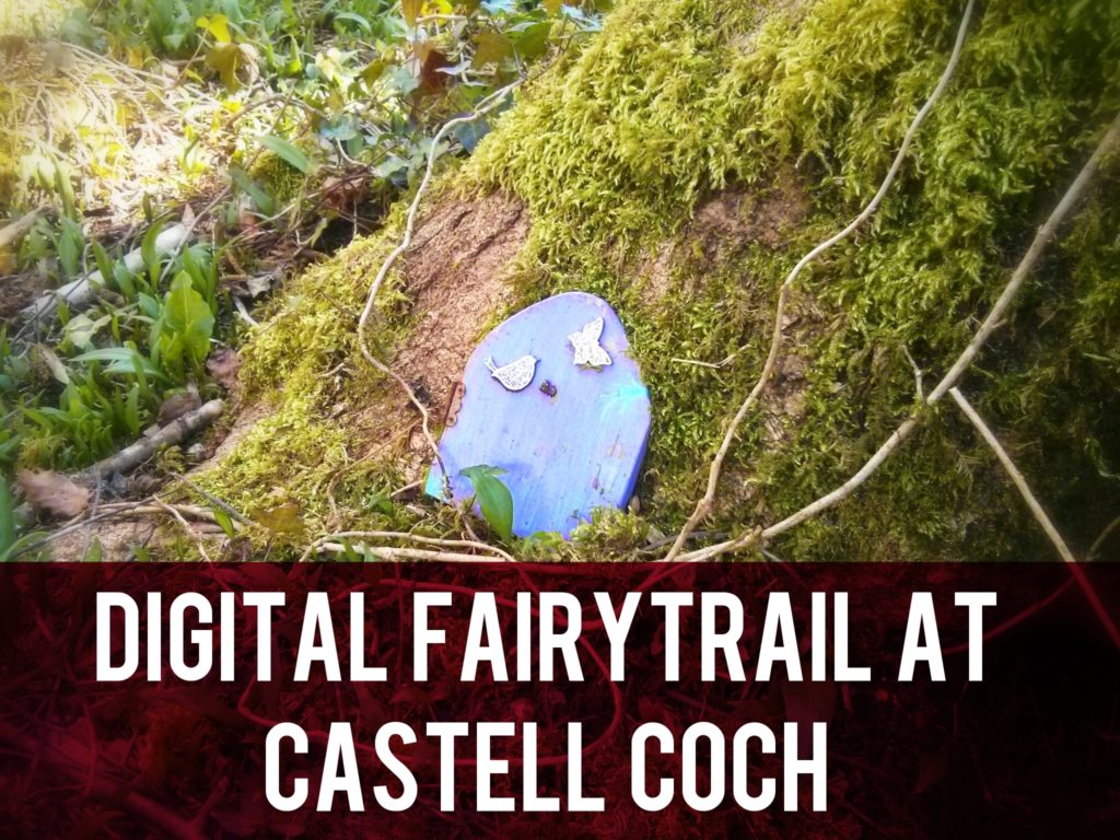 Digital Fairytrail at Castell Coch header
