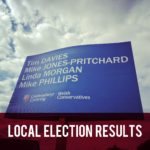 Local election results header
