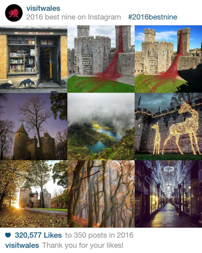 Visit Wales best nine 2016