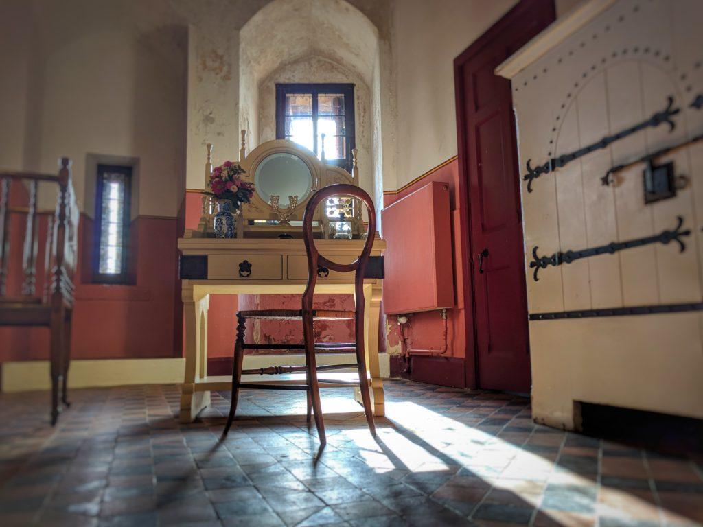 Bedroom in Castell Coch