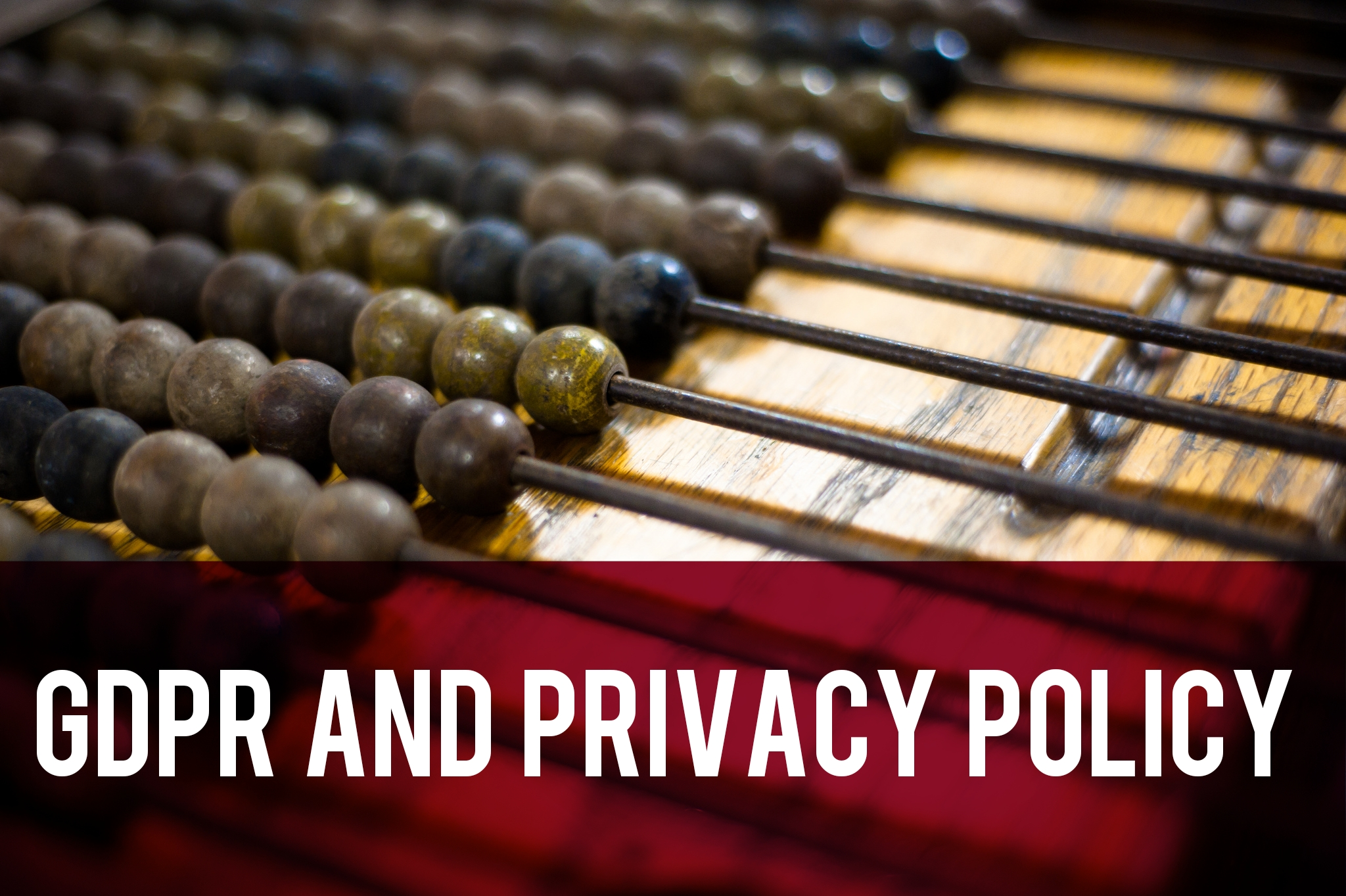 GDPR and Privacy Policy header