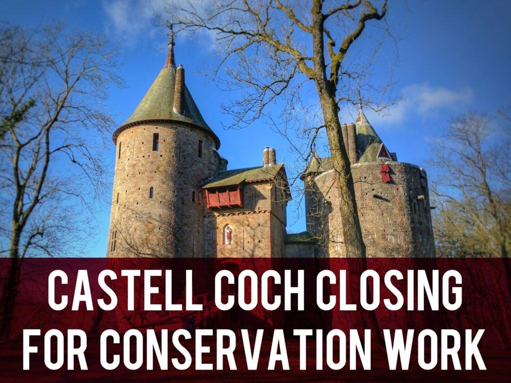 Castell Coch closing for conservation work header