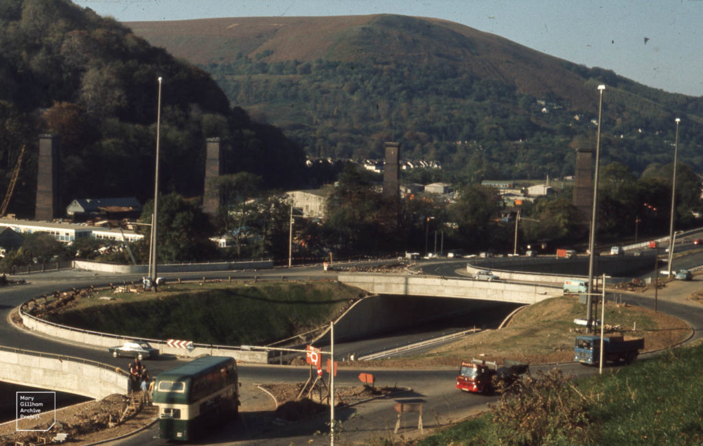 Photo of the A470 from 1971