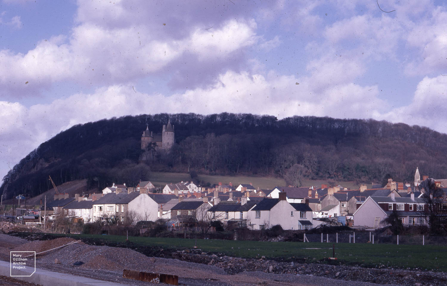 Photo of Tongwynlais from 1971