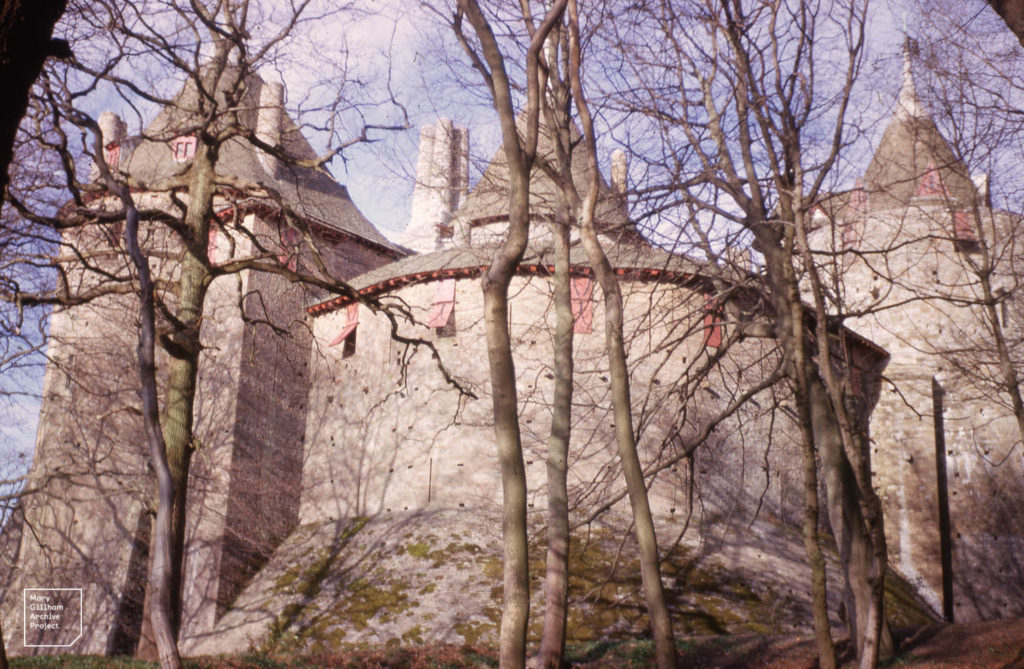 Photo of Castell Coch from 1963